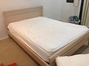 Queen Size Bed, Mattress & Frame Available Monday 1st Bayview Darwin City Preview