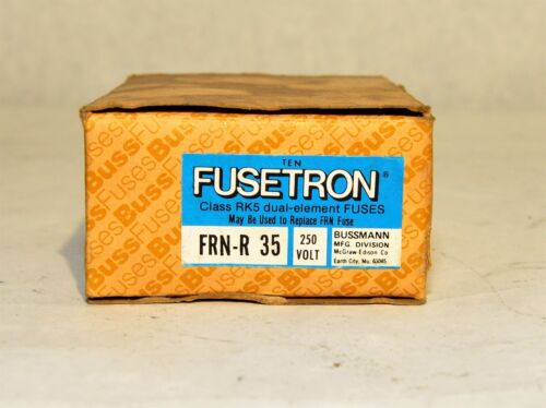 Fusetron FRN-R 35 NEW IN BOX