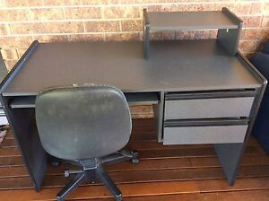 Computer office desk and chair Emu Heights Penrith Area Preview