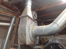Sawdust Extractor unit with ducting. Newnham Launceston Area Preview