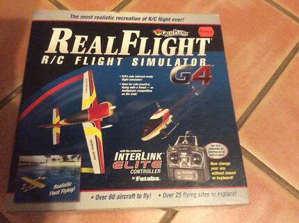Real Flight G4 Radio Control Flight Simulator RC