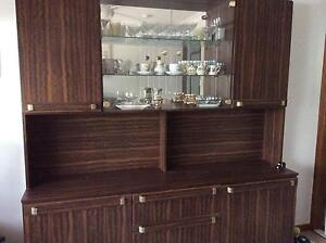 Wall unit with display cupboards Burpengary Caboolture Area Preview
