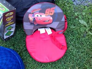 Cars. Lightening McQueen laundry & toy holder,garbage can,chair