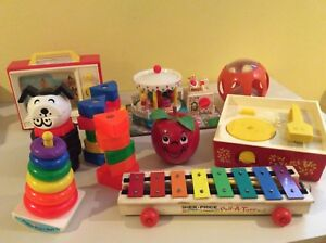 Jouets Fisher Price vintage