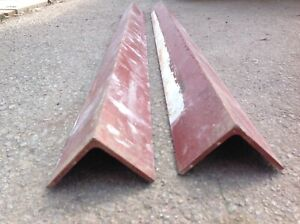 """6 pieces - Peak Products STEEL ANGLE LINTEL - 56""""-58"""" Each"""