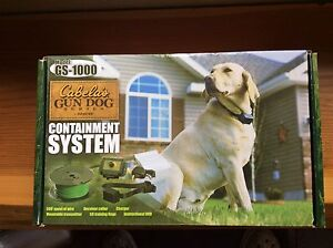 Dog containment system
