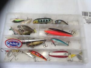 Plano box Loaded With Fishing Lures