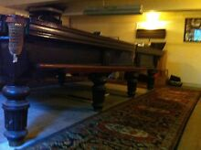 MUST SELL THIS WEEK - Exquisite Antique Full-Size Snooker Table New Lambton Heights Newcastle Area Preview