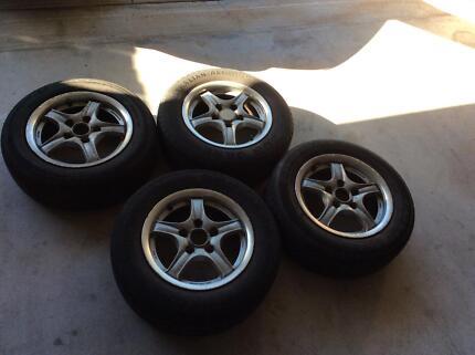 Mag wheels used