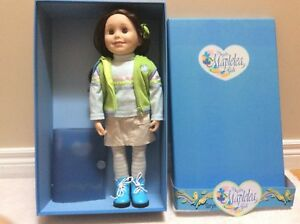 Taryn Canadian Girl Doll with Outfits and Accessories  Like New