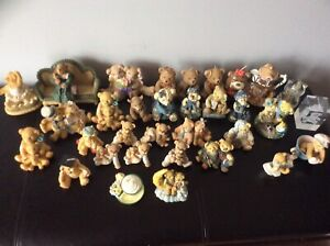 CHERISHED TEDDIES & ASSORTED BEAR COLLECTIONS