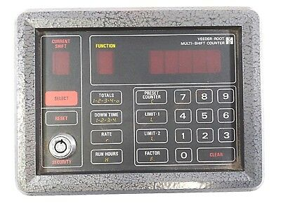 Veeder-root Digital Multi-shift Counter 793105-201