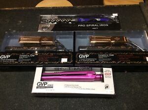 Hair straighteners and curling iron