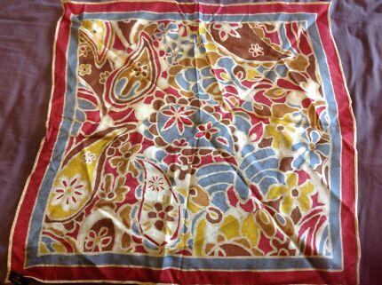 Jim Thompson Thai silk scarf $10 Gordon Tuggeranong Preview