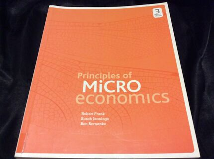Microeconomics textbook books gumtree australia free local principles of microeconomics by frank jennings and bernanke fandeluxe Image collections