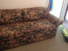 MORAN sofa bed with double mattress- great condition - NEGOTIABLE North Melbourne Melbourne City Preview