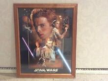 Framed Star Wars poster City North Canberra Preview
