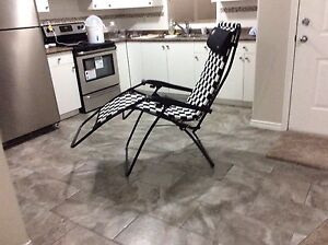 Folding chair recliner