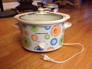 Brand new Hamilton Beach slow cooker never been used