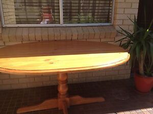 Dining table -solid wood FREE Belrose Warringah Area Preview