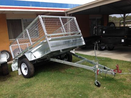 Heavy Duty  8x5 and a free service with every trailer