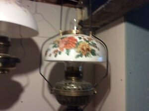 Antique hanging lamp