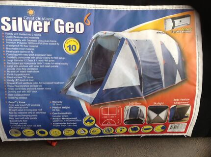 Silver Geo 6 Tent. Brand New. & great outdoors tents | Miscellaneous Goods | Gumtree Australia ...