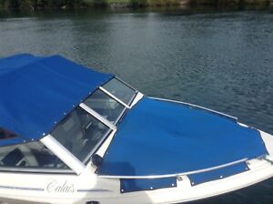 17 FOOT CALAIS BOW RIDER WITH MATCHING TRAILER