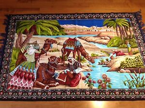 Vintage Bossa Wall Hanging or Rug