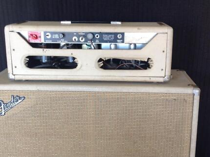 Fender 1963 Band Master Amp Dayboro Pine Rivers Area Preview