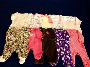 Nb/3months baby girl clothes 121 pieces