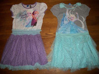 Anna Tutu Dress (DISNEY FROZEN ANNA & ELSA TUTU SKIRT DRESS BLUE & PURPLE GIRLS SZ L 10 12)