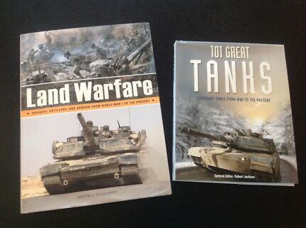 Books- 101 Great Tanks and Land Warfare from WW1 to Present