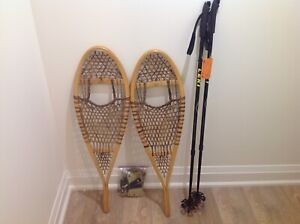 Snowshoes with Poles