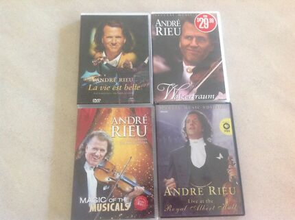 Four Andre Rieu DVDs