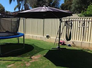 Large Outdoor Umbrella White Gum Valley Fremantle Area Preview