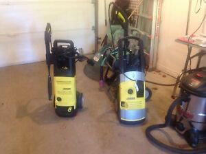 Two Karcher. Pressure washers $25.00 each Sold !