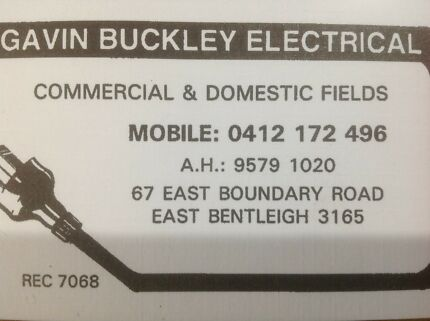 Gavin Buckley Electrical