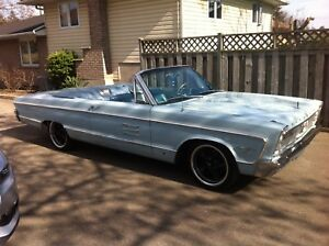 1966 Plymouth Sport Fury Commando 383 Convertible