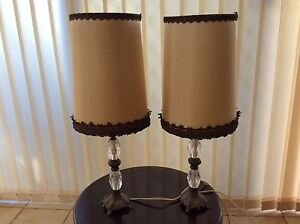 Vintage bedside table lamps Lockleys West Torrens Area Preview