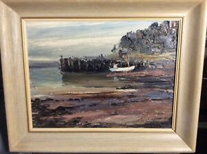 BEAUTIFUL KELSEY RAYMOND OIL PAINTING DIGBY