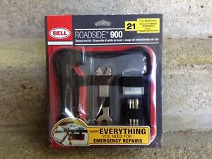 Bell Roadside 900 Deluxe Emergency Bike Repair Kit With Pump