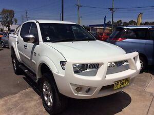 2012 Mitsubishi Triton GLX-R 4x4 Turbo diesel Ute Sandgate Newcastle Area Preview