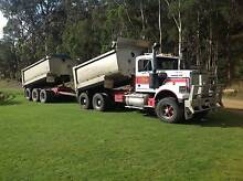 Western Star tipper and tri-axle Fruehauf pig trailer Longley Kingborough Area Preview