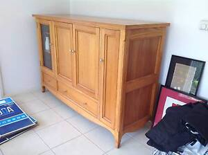 Solid Rosewood Hardwood - TV entertainment Unit as new Cronulla Sutherland Area Preview