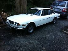 1975 Triumph Stag Selby Yarra Ranges Preview