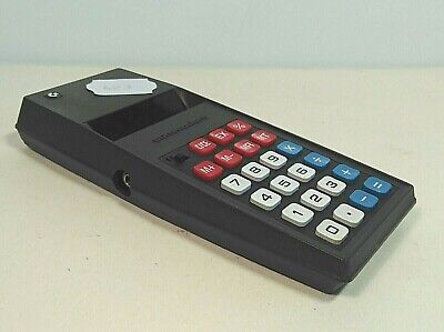 Commodore Calculator Vintage 797D Red Digits Serial Number 15789 Japan Tested