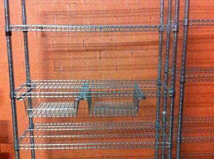 Pantry Shelves Ikea Ikea Omar Steel Pantry Shelves