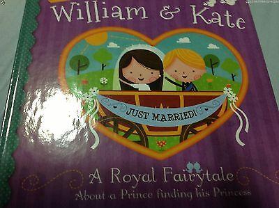 NEW WILLIAM & KATE Royal Child Book Kids Doll Wedding Prince Princess
