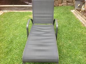 Reclining Sun Bed Comfortable, five setting Light-weight Burwood East Whitehorse Area Preview